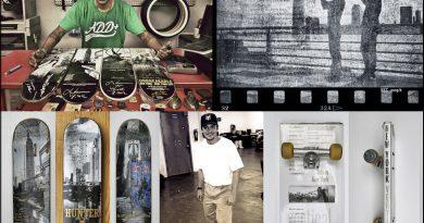 Auch eine exklusive Skateboard-Sonderedition von SHUT NYC Wird in der HafenCity gezeigt Foto: Fotocredit: Horst Hamann & Sons