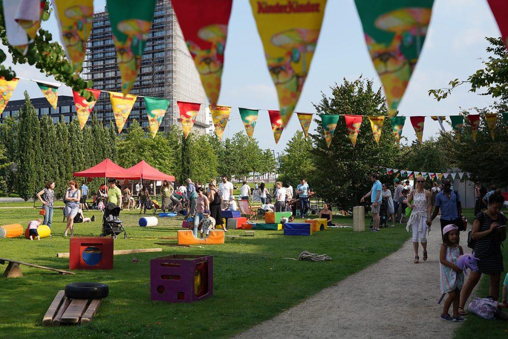 Nachbarschaftsfest des Netzwerks HafenCity e.V. im Lohsepark. Foto: Thomas Hampel
