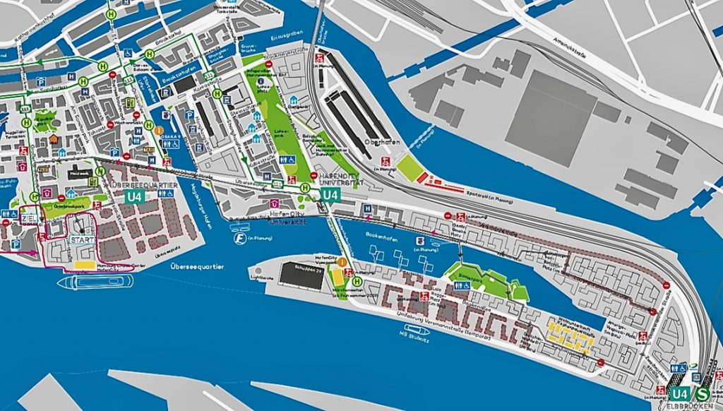 Visualisierung: Hamburg Commercial Bank Run 2019 HafenCity