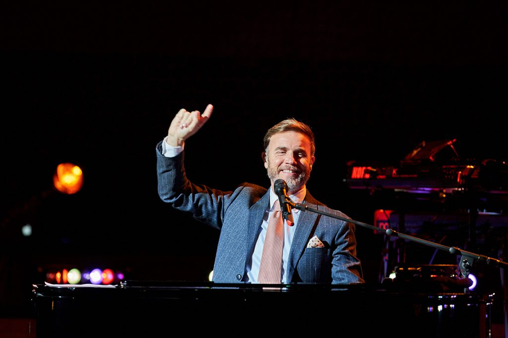 Gary Barlow, Elbphilharmonie, Großer Saal, 11.10.2019; ©Elbphilharmonie