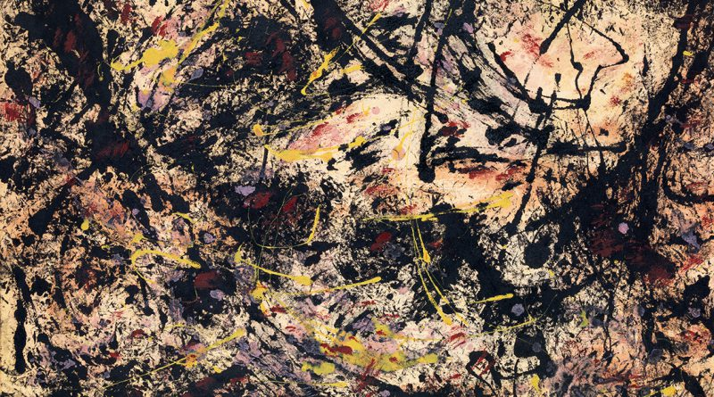 Jackson Pollock: Painting B, um 1950; Louisiana Museum of Modern Art, Humlebæk, Dänemark Schenkung The Joseph and Celia Ascher Collection, New York; © Pollock-Krasner Foundation / VG Bild-Kunst, Bonn 2019