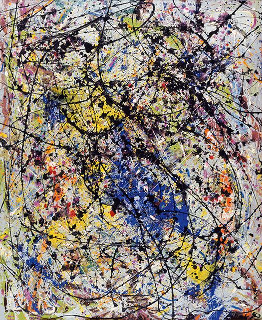 Jackson Pollock: Reflection of the Big Dipper, 1947; Stedelijk Museum Amsterdam; Gift of Peggy Guggenheim; © Pollock-Krasner Foundation / VG Bild-Kunst, Bonn 2019