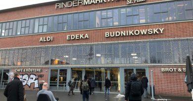 Die Rindermarkthalle St. Pauli gilt als kulinarischer Hotspot in Hamburg (Foto MB)