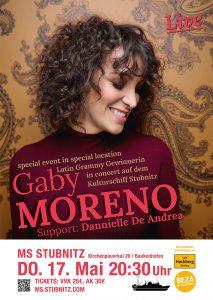 Gaby Moreno und Band (Guatemala/USA), Support: Dannielle De Andrea (Australien) @ MS Stubnitz