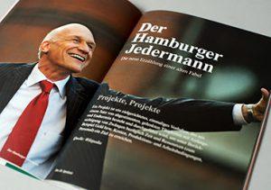 Der Hamburger Jedermann @ HafenCity InfoCenter Kesselhaus