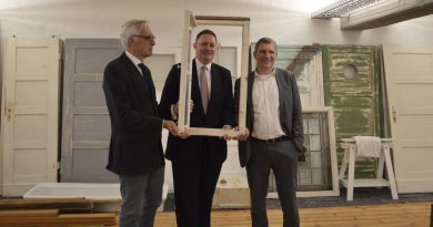 v.l Dr. Roland Lappin, Dr. Carsten Brosda, Egbert Rühl, GF Hamburg Kreativgesellschaft