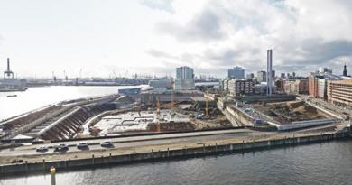 Aufregend und widersprüchlich: Das Südliche Überseequartier wird eine Zerreißprobe für die Anwohner und die Lebensqualität in der HafenCity. Foto: Thomas Hampel