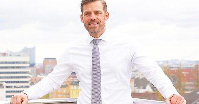 """Falko Droßmann, Chef vom Bezirksamt Hamburg-Mitte: """"Ich erlaube niemandem, mir meine positive Grundeinstellung zu vermiesen."""" ©ThomasHampel"""