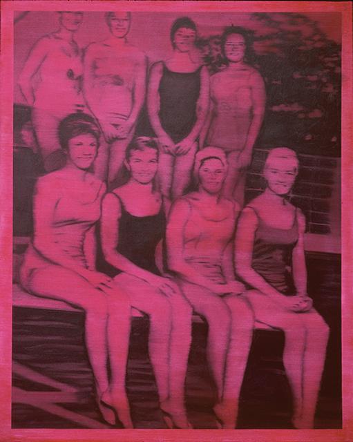Gerhard Richter. Schwimmerinnen, 1965 Öl auf Leinwand, 200 x 160 cm Sammlung Froehlich, Stuttgart Copyright: © Gerhard Richter 2019 (06082019)