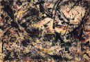 Jackson Pollock: Painting B, um 1950; Louisiana Museum of Modern Art, Humlebæk, Dänemark Schenkung The Joseph and Celia Ascher Collection, New York; © Pollock-Krasner Foundation / VG Bild-Kunst, Bonn 2019