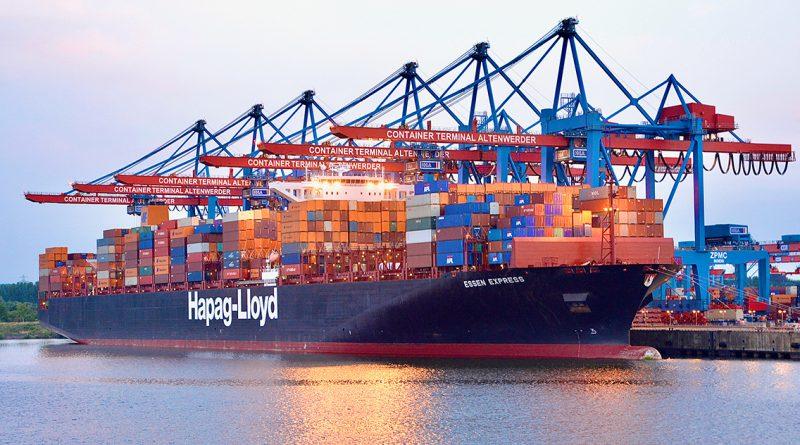 Die HHLA setzt auf nachhaltige Technik als Wettbewerbsvorteil: Der Container Terminal Altenwerder (CTA) ist als weltweit erster klimaneutraler Containerterminal zertifiziert. © Thomas Hampel