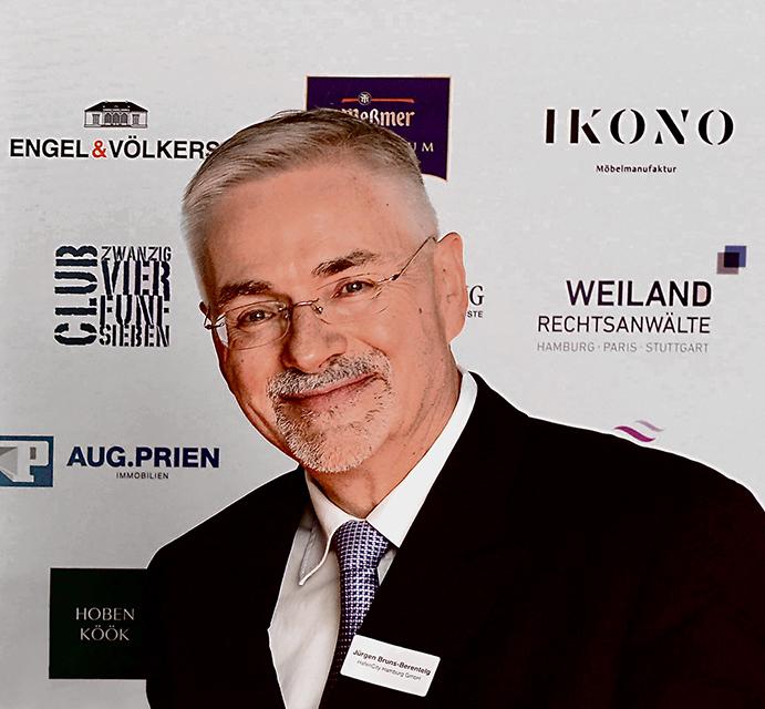 Prof. Jürgen Bruns-Berentelg. Vorsitzender der Geschäftsführung der HafenCity Hamburg GmbH © Jonas Wölk