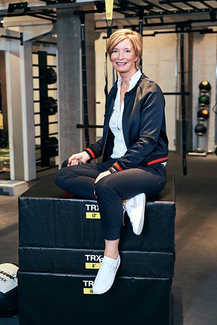 """Christin Lüdemann, stellv. Geschäftsführerin Meridian Spa & Fitness Deutschland GmbH: """"Ich möchte beruflich immer etwas bewegen und weiterentwickeln. Das gilt auch für das Meridian."""" © meridianspa.de"""