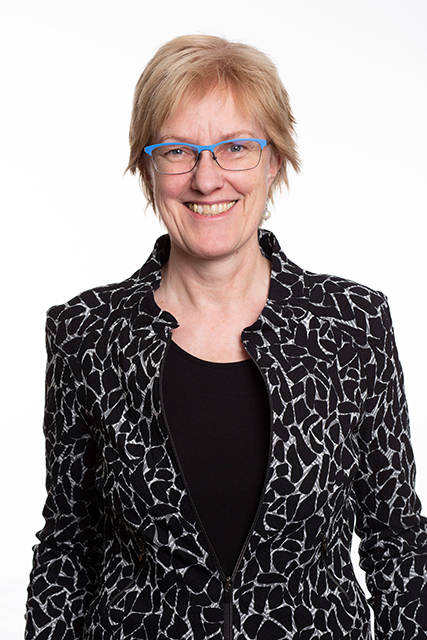 Kandidatin zur Bürgerschaftswahl 2020, Hamburg-Mitte, HafenCity: Heike Sudmann, Die Linke. © Die Linke