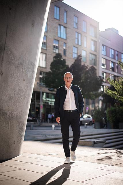 »Wir müssen die ganze Stadt im Blick haben, wenn Hamburg weiter erfolgreich sein will. Wir wollen den Klimaschutz mit einer starken Wirtschaft verbinden.« © Senatskanzlei Hamburg