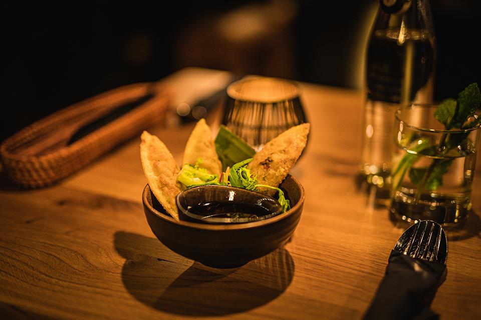 Frische asiatische Küche mit erfrischend nachhaltigem Lifestyle: Man hat zu keiner Zeit das Gefühl auf etwas zu verzichten. © TA VEGAN HOUSE / Philipp Troche