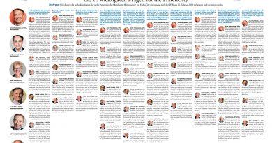 Wahlumfrage Spitzenkandidaten des Bezirks Mitte zu den 10 wichtigsten Fragen der HafenCity: Vom eigenen Kandidatenprofil über HafenCity-Verkehr und Schulbau. © Wolfgang Timpe / HafenCity Zeitung