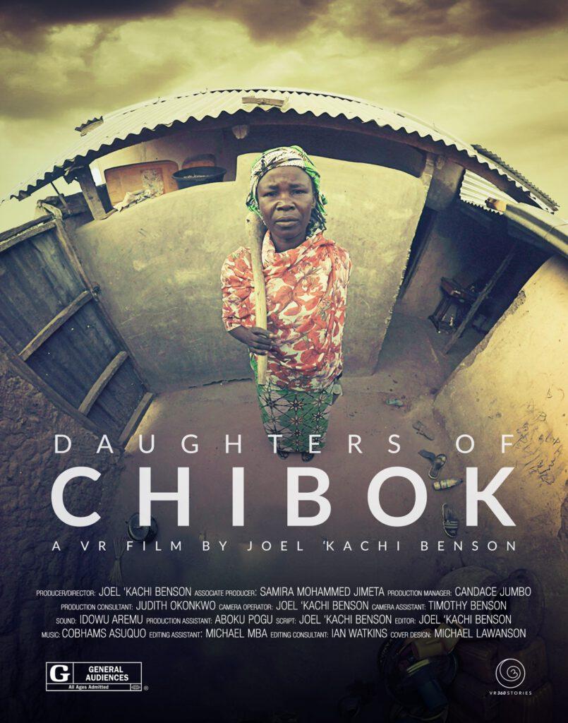 """Die Experience """"Daughters of Chibok"""" erzählt von jener Nacht am 14. April 2014, in der die Terrorgruppe Boko Haram in der nigerianischen Gemeinde Chibok 276 Schülerinnen aus ihren Schlafsälen entführte. © VHRAM!"""