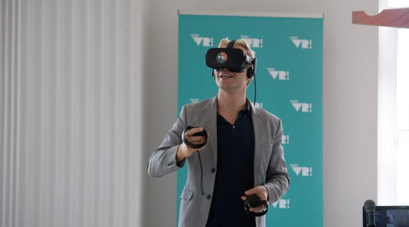 """VR-Kunstmaniac und künstlerischer VHRAM!-Festivalleiter Ulrich Schrauth: """"Die gesamte Veranstaltung wird ein totales Experiment."""" © VHRAM!"""