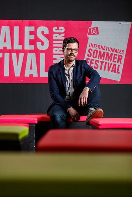 """Festivalleiter András Siebold: """"Einige Produktionen wurden vom Coronavirus beeinflusst oder beschäftigen sich direkt mit ihm."""" © Marcelo Hernandez"""