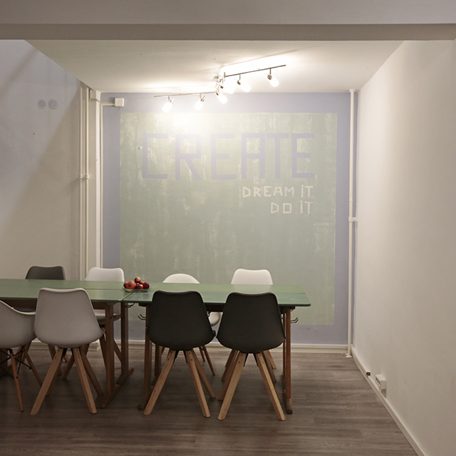 CoCreating Space: Teambuildings, Videodrehs, Interviews, Workshops oder Fotoshootings finden weiterhin statt. © PR