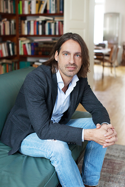 Der Philosoph Richard David Precht: Er tritt mit dem belgischen Komponisten  Wim Mertens auf. © Amanda Dahms