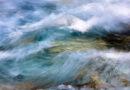 """Gemälde-Dynamik: Aufgenommen am Fluss Soca, Slowenien, mit einer Canon 5D rs und relativ langer Belichtingszeit bei gleichzeitigem Mitbewegen der Kamera mit der Bewegung des Wassers – """"er macht den Aktivismus mit seinen Fotografien erlebbar"""". © Rudi Sebastian"""