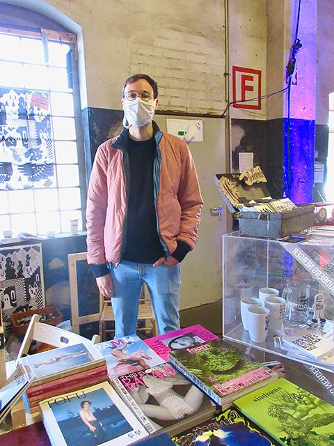 """Benjamin Gradhand die Indiecon vorzugsweise zum Netzwerken: """"Ich halte Ausschau nach neuen Magazin-Machern."""""""