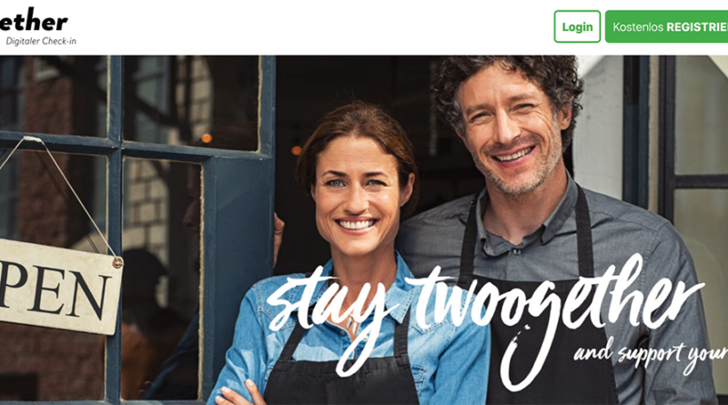 """""""twoogether""""-App-Entwickler Matthias Müller: """"Wir bieten unsere App bewusst gratis an, denn die Gastronomie ist durch die Corona-Krise finanziell arg gebeutelt."""" © www.twoogether.com"""