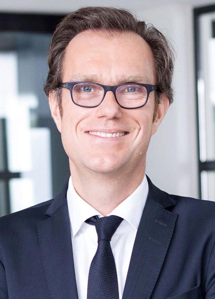 """Dr. Andreas Kleinau, seit September neuer Co-Geschäftsführer der HafenCity Hamburg GmbH: """"Das Gebäude"""", so Kleinau, """"wird neue Maßstäbe mit Blick auf Nachhaltigkeit und schonenden Umgang mit Ressourcen setzen."""" © www.marekbeier.de"""