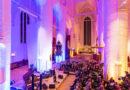 Wenn in St. Katharinen am Samstag mit Mundharmonika-Jazzer und Pfarrer Frank Engelbrecht die Osternacht 2021 mit Musik, Schauspiel und Predigt eitgeistig gestreamt wird, kann man sich an die guten alten Präsenz-Gottesdienste und Kultur-Höhepunkte erinnern. © Thomas Hampel