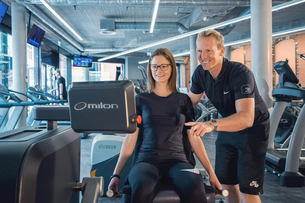 Damaris + Nils Kuprat © Prime Time fitness Hamburg