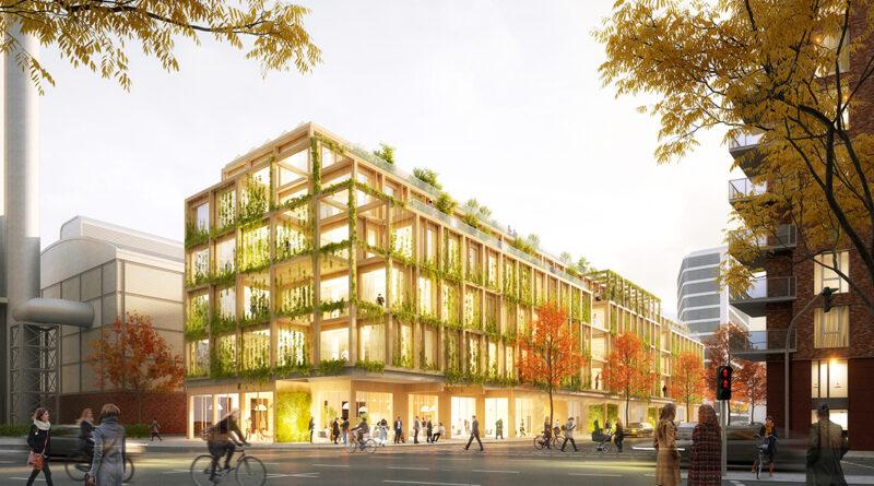 Der Blick vom Sumatra-Haus aus zeigt die Transparenz und luftigen Austrittsflächen des Gebäudes. © Heinle, Wischer und Partner, Freie Architekten