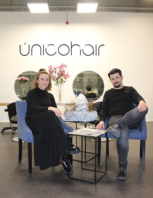 Elvira Dzemaili und Miguel Costa Freitas © Únicohair