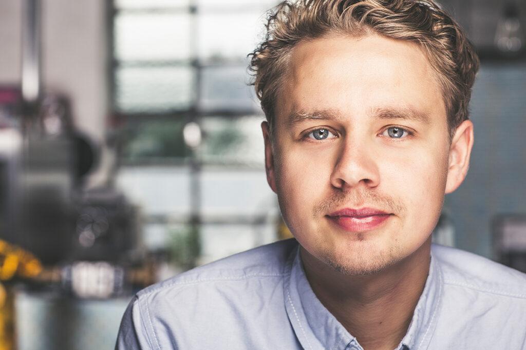 Foodboom-Gründer und Koch Hannes Arndholz: Statt Fastfood ist bei jungen Familien gesunde Ernährung angesagt.© Foodboom