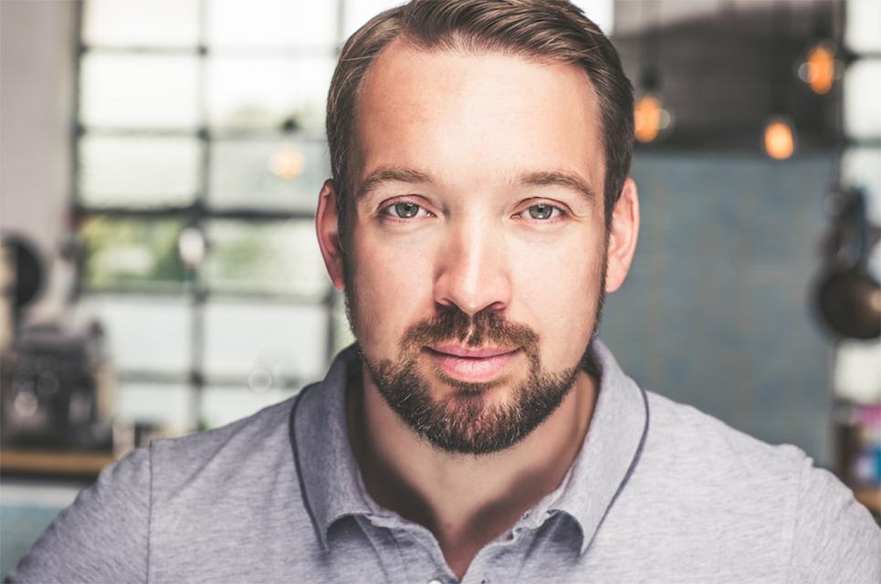 """Foodboom-Gründer, Koch und Medienwissenschaftler Sebastian Heinz: """"Ich bin ein strategischer Zahlenmensch."""" © Foodboom"""