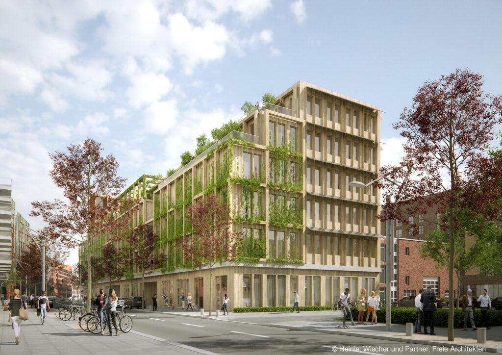 """Dr. Andreas Kleinau, HCH-Geschäftsführer und Projektverantwortlicher für das Null-Emissionshaus: """"Wir glauben, dass wir mit dem Gebäude Qualitäten für unsere Arbeit schaffen, die sonst nicht so verfügbar sind."""" © Heinle Wischer und Partner, freie Architekten"""