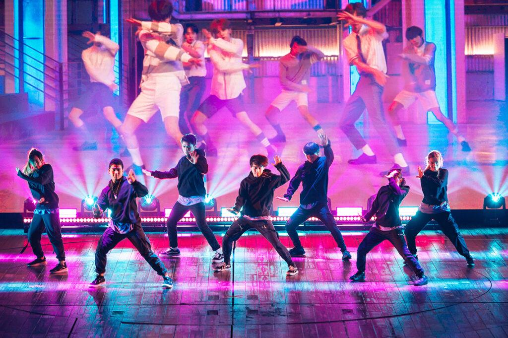 Die K-Pop-Band Drippin, die das Schwerpunktland Korea repräsentiert, muss sich auf einen virtuellen Auftritt beschränken. © Niklas Heinecke